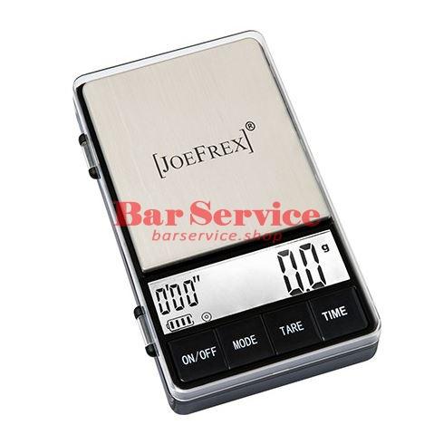 Весы баристаJoeFrex с таймером 1000г