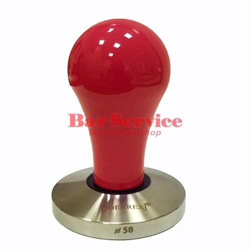 Темпер JoeFrex D53 Pop красный плоский сталь