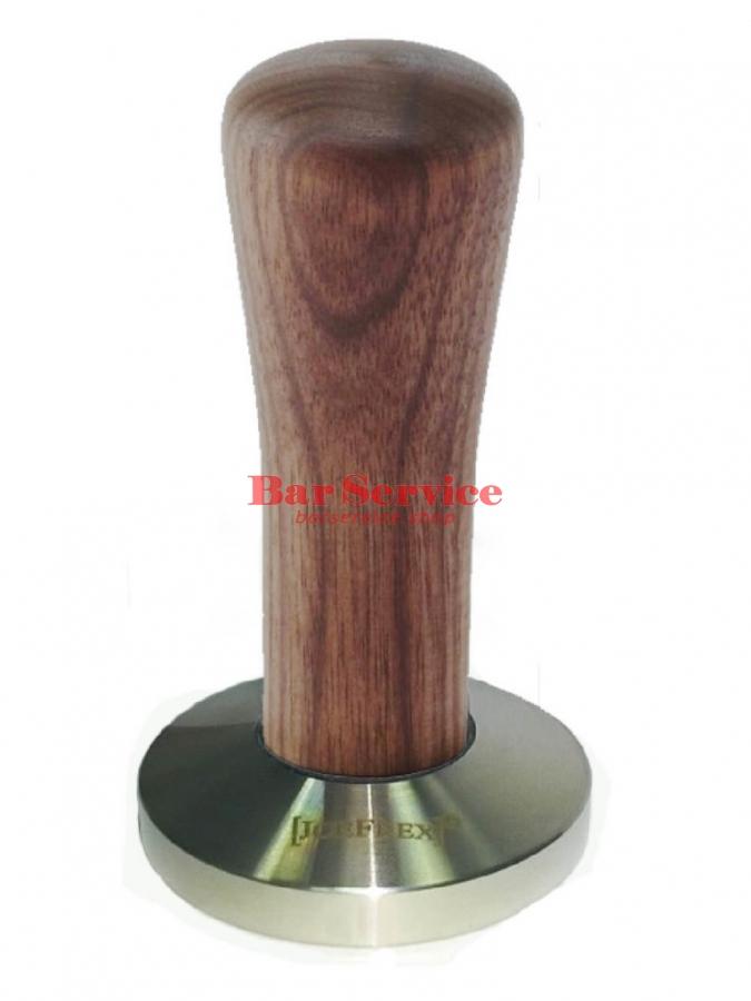 Темпер JoeFrex D58 Classic Short, орех, плоский сталь