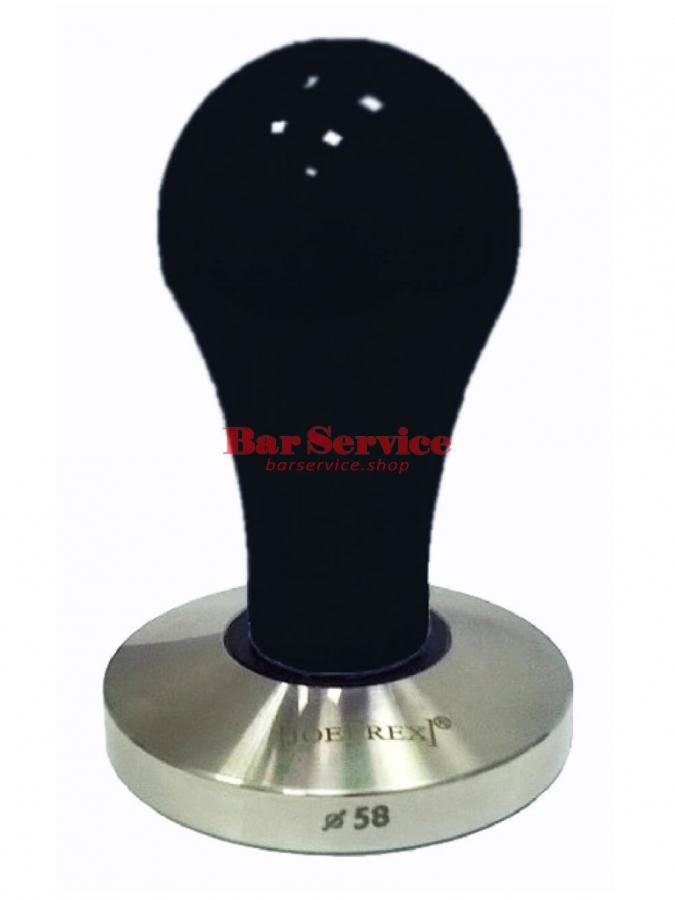 Темпер JoeFrex D58 Pop черный плоский сталь