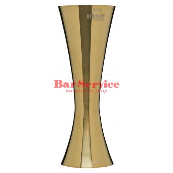 Джиггер AERO 25/50мл золото