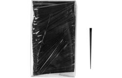 Пики д/канапе «Призма», черный  [500шт]