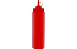 Емкость д/соусов, 690мл (красная)