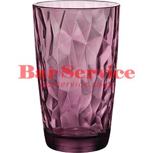 Хайбол «Даймонд» 470мл; фиолет.