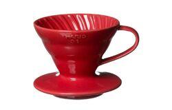 Hario VDC-02R. Воронка керамическая красная. 1-4 чашки top
