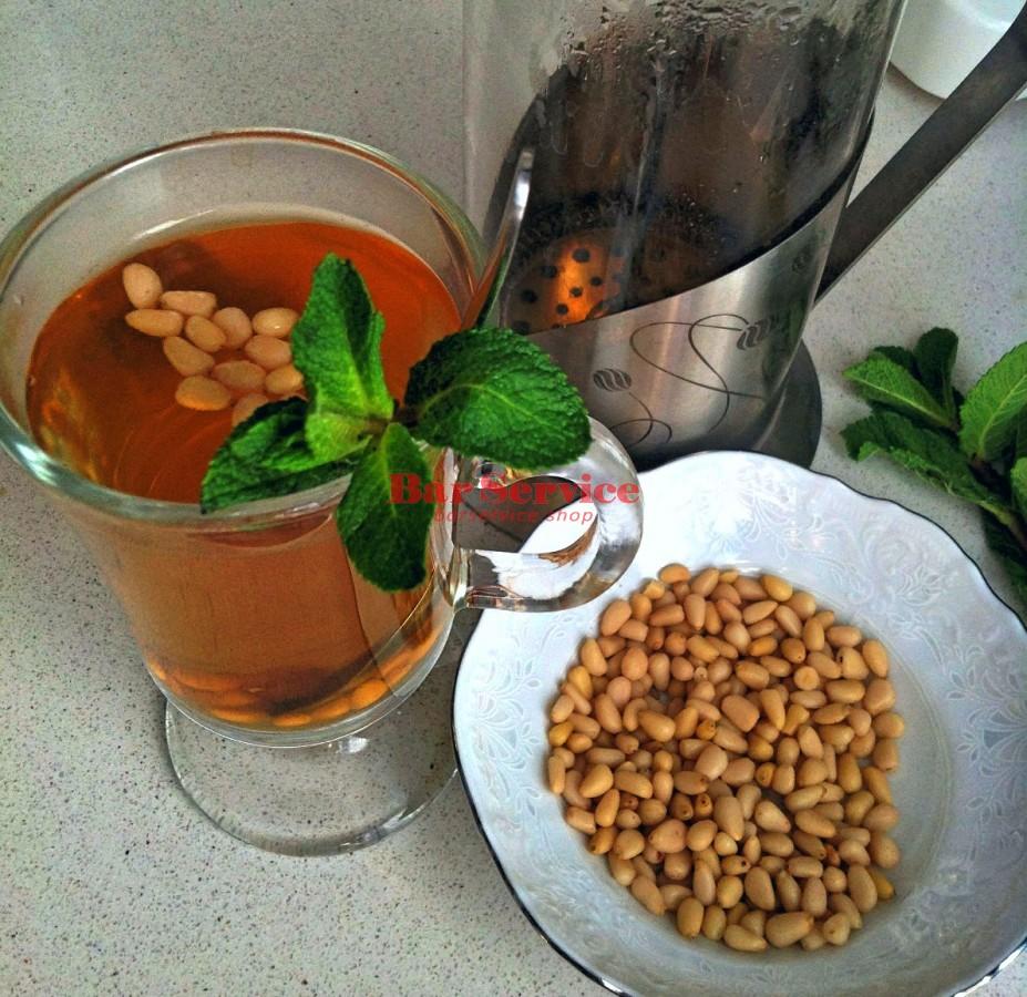 Чай порционный Сбитень кедровый с мятой