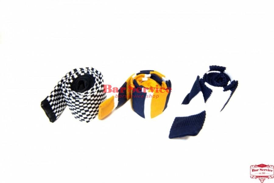 Галстук вязанный шерсть (цвет в ассортименте)