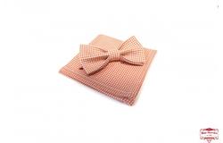 Галстук-бабочка + платочек (цвет в ассортименте)