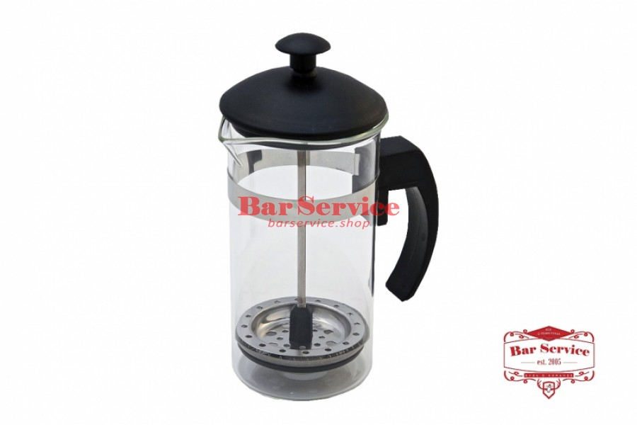 Чайник-кофейник Черный Объем: 350 мл. (френч пресс)